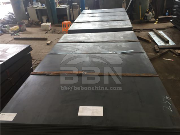 Inspection Report of Atmospheric corrosion-resistant steel plates