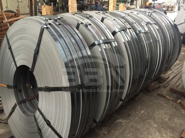 Inspection Report of S235JR steel strips
