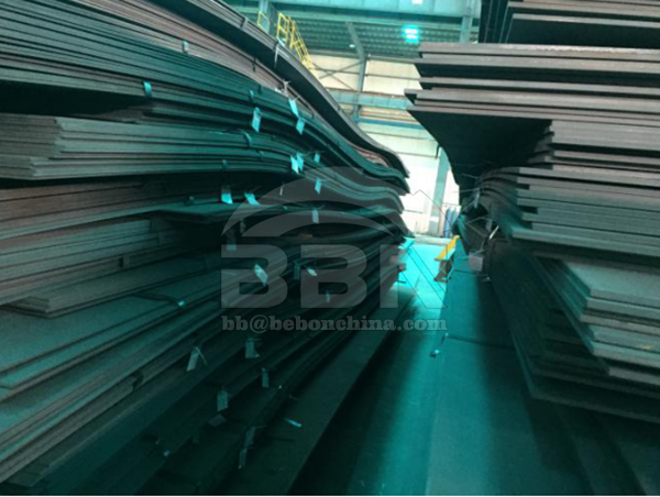 Inspection Report of LR A Marine structural steel plate