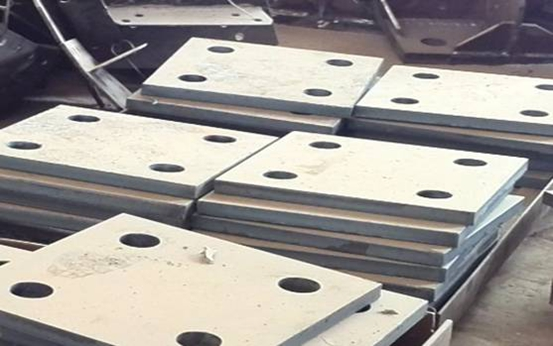 1856 tons Drilling Plate to Qatar