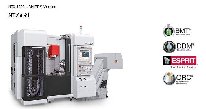 Ntx1000-mapps Version high precision vehicle milling and milling machine