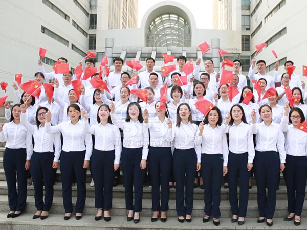 BBN Staff Sing Song to Mark The 70th Founding Anniversary of the People's Republic of China