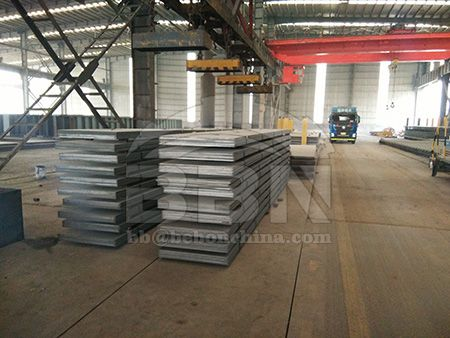 What is application of boiler steel EN 10028 2 P265GH normalized plate