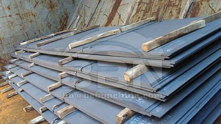 Marine class EH36 shipbuilding steel plates stock resources in China