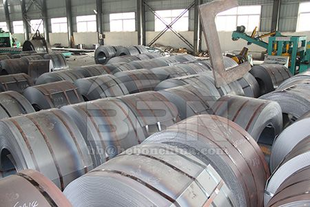 Prices of ASME SA283C mild carbon steel coil in China market on August 7