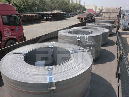 S235JR hot rolled carbon steel coil prices in China market on July 16