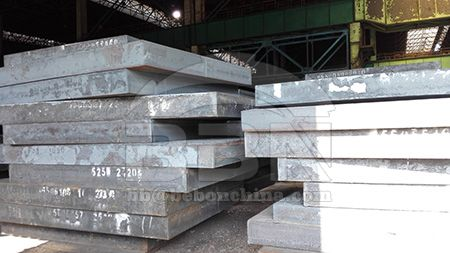 ST52-3 equivalent ASTM A572 grade 50 structural steel plate stock resources in China