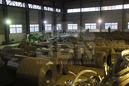 Price of EN10025-2 S275JR carbon hot rolled steel coil in China market on July 31
