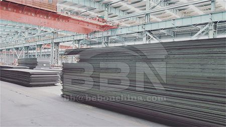 EN10025 S235JR carbon steel plate stock resources in China