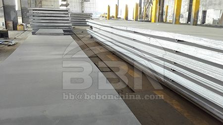 The price of marine grade LR AH32 boat steel plate in the Chinese market on July 19