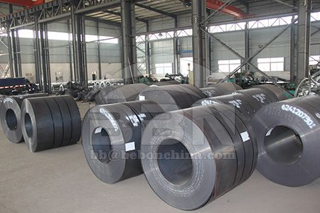 Q245R steel coil price in China market on June 12