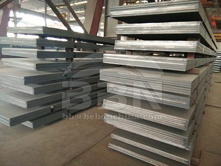 Hot rolled Q345D carbon steel plate prices on August 27 in China