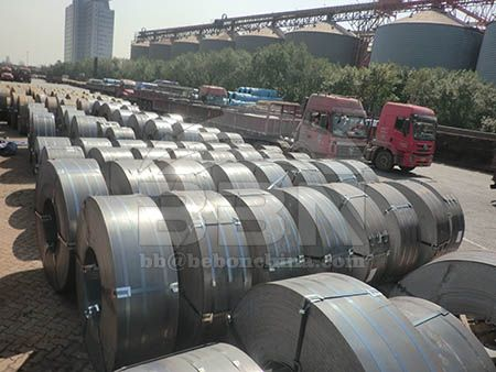 June 13 price of hot rolled steel strip in China market