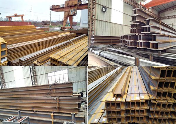 750 tons H beam shipped to Pakistan in 2015