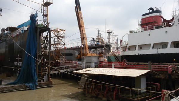 4960 ton ABS EH36 steel plate to ASIMAR shipyard in Thailand