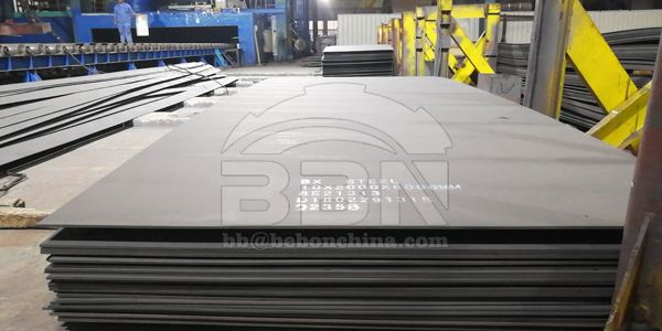UK-Iraq-974 tons Q235B steel plate and structure