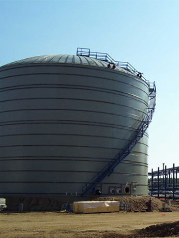 Double-Layer Low Temperature Storage Tank Project